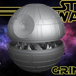 3D printing model Death Star Grinder, SimaDesign