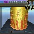 Download STL file Star Wars Dark Side Mug • 3D printable model, SimaDesign