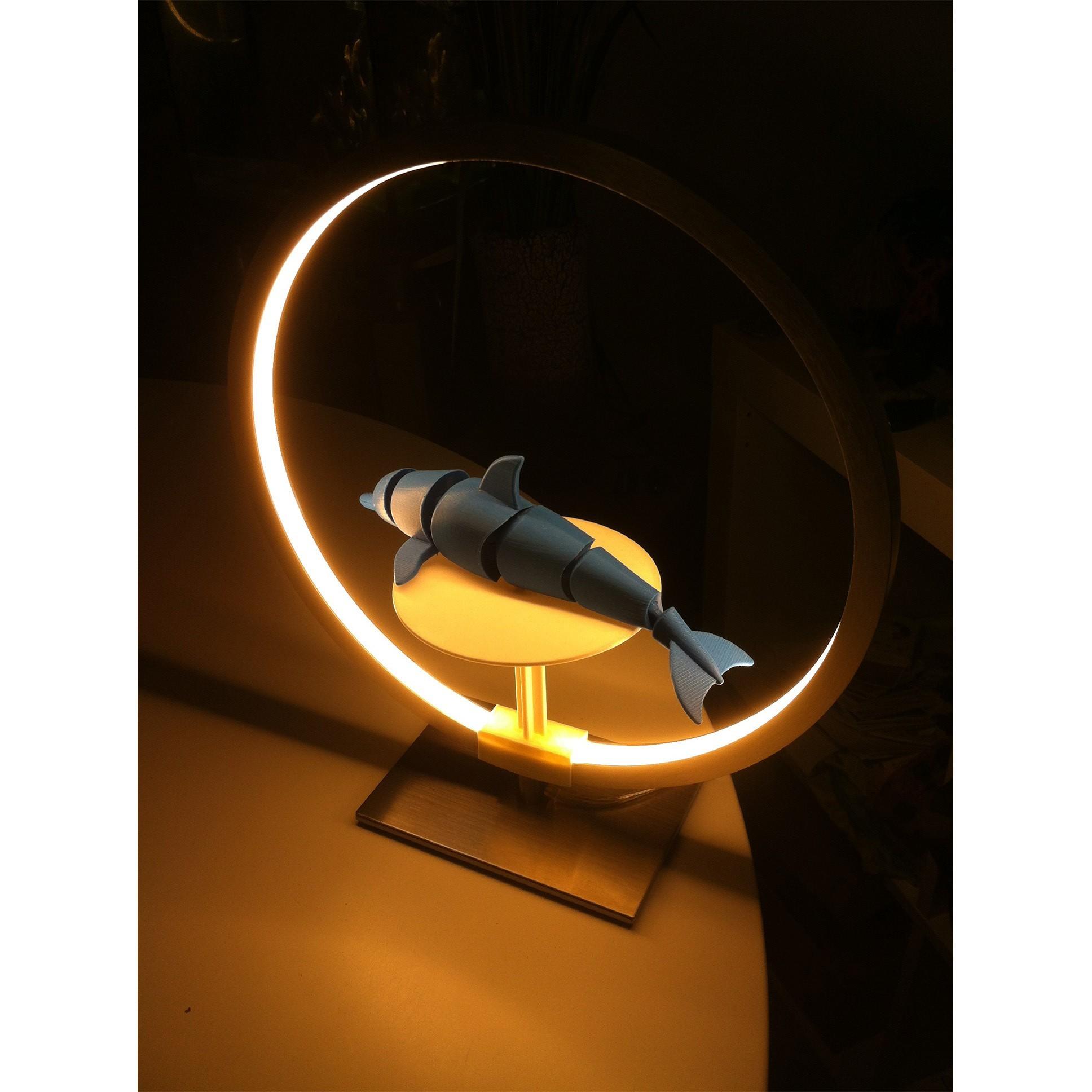 "IMG_4027.JPG Download STL file Stand for lamp ""CIRCLE PURPOSE"" • 3D printing design, baboon"