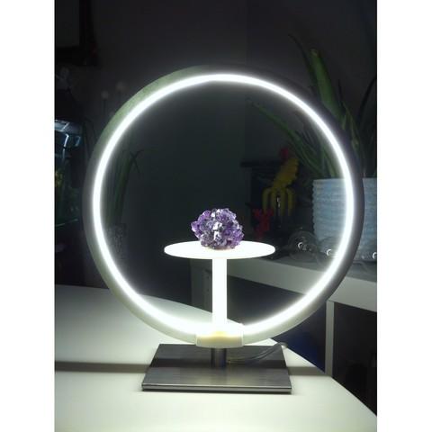 "IMG_4028.JPG Download STL file Stand for lamp ""CIRCLE PURPOSE"" • 3D printing design, baboon"