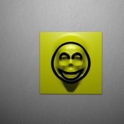RenduSmileySkullA.jpg Télécharger fichier STL SMILEYSKULL • Objet imprimable en 3D, baboon
