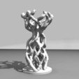 RenduCoupeB.jpg Download STL file Organic Cup without support • Model to 3D print, baboon