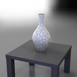 Download 3D printing templates Broken - VASE series, baboon