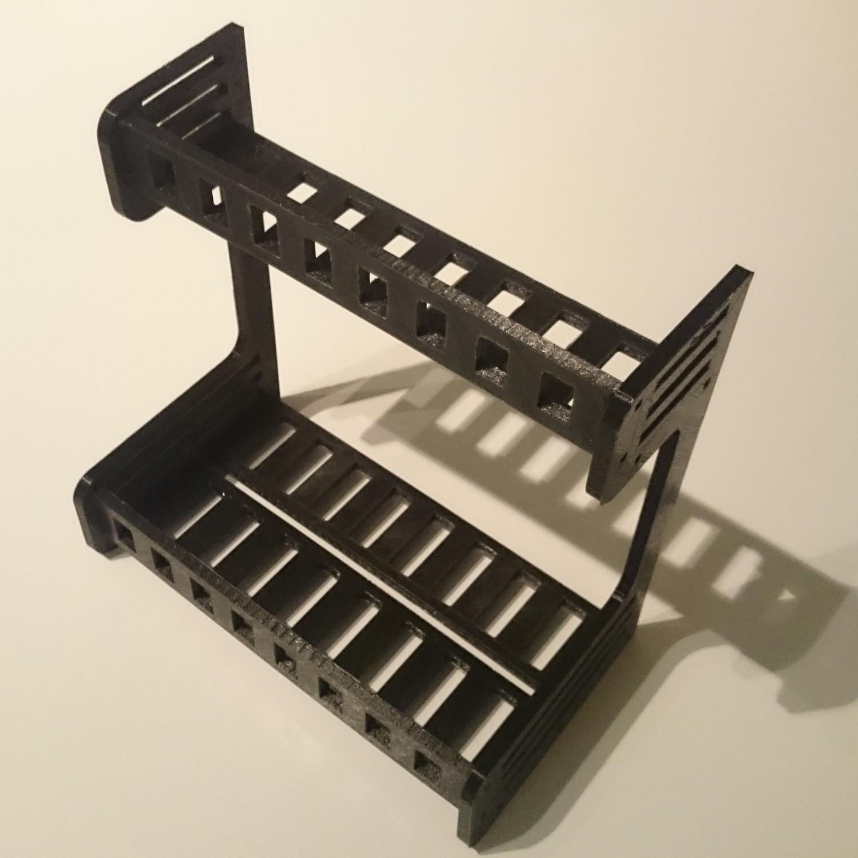 tfrichet etagere epices montee.JPG Download free STL file Spice wall shelf • 3D printer design, Thibaud_