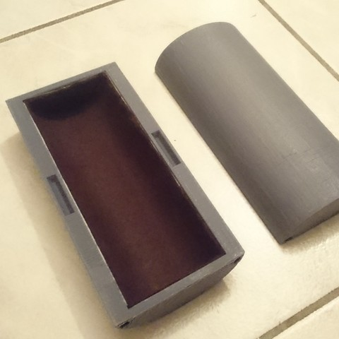 Download free STL file Magnetic spectacle box • Design to 3D print, Thibaud_