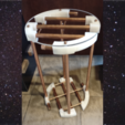 Download free 3D printing models Orion's Belt Cocktail Table, travocado
