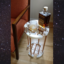 Free 3d printer model Orion's Belt Cocktail Table, travocado