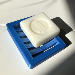 Download free STL file soap dish • 3D printer template, harps