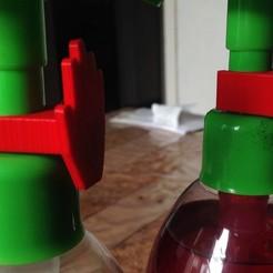 savon distr.JPG Download free STL file Soap dispenser • 3D printable design, harps