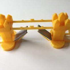 Modelo STL puente de la torre, torre, puente gratis, harps