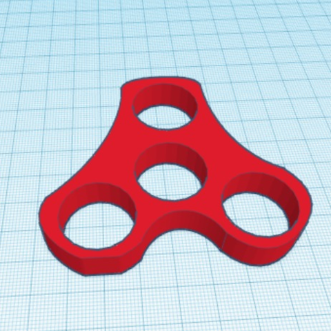 Download STL file Spinner 4 Bearing • 3D printing design, Basso