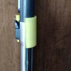 Télécharger fichier impression 3D gratuit support de tuyau d'aspiration miele, bitflung