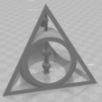 Free STL file Deathly Hallows, MAKINA