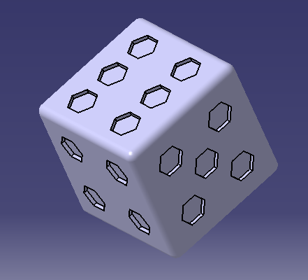 6 faces.PNG Download free STL file 6 sided dice • Model to 3D print, MAKINA