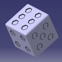 6 faces.PNG Télécharger fichier STL gratuit Dé 6 faces • Plan pour impression 3D, MAKINA