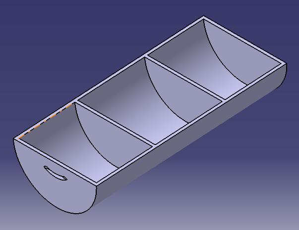 Internal drawer 2.PNG Download free STL file cryptex • 3D printable model, MAKINA
