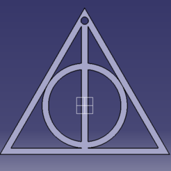 Download free 3D printer designs Deathly Hallows, MAKINA
