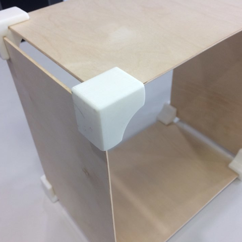 Free 3D printing templates Plywood Box Joint (3mm thick) ・ Cults