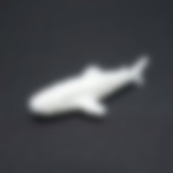 Free 3d printer designs Voxel Shark, PJ_