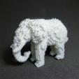 Download free STL files Voxel Elephant V2, PJ_