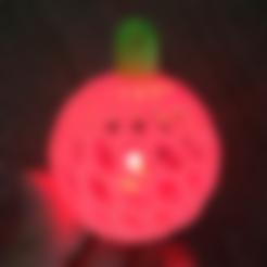 Free 3D file LED Christmas Ornament, PJ_
