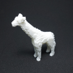 Download free 3D printer files Voxel Giraffe, PJ_