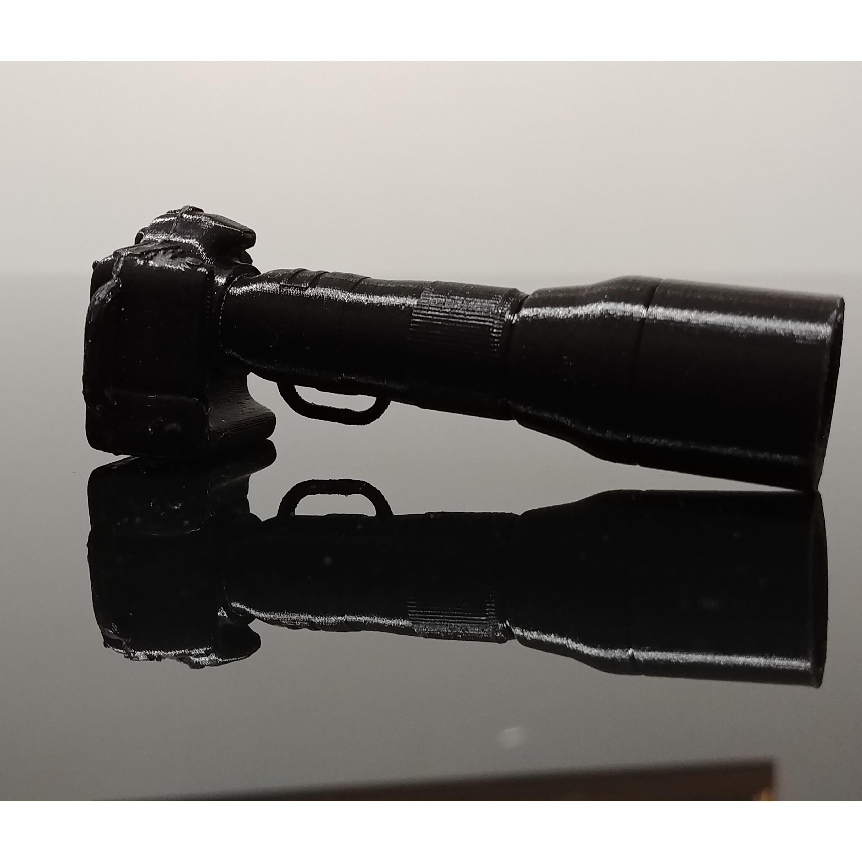 14.jpg Télécharger fichier STL gratuit Porte clé Appareil photo  • Objet pour imprimante 3D, Warendys