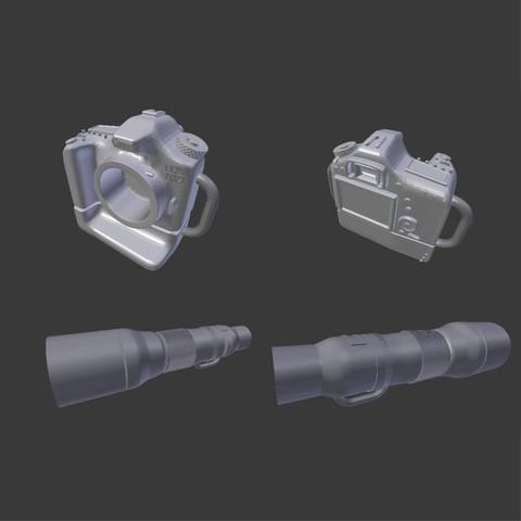 15.jpg Télécharger fichier STL gratuit Porte clé Appareil photo  • Objet pour imprimante 3D, Warendys