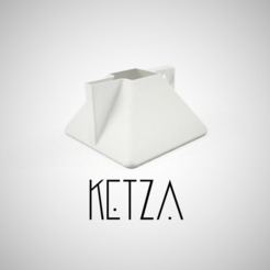 3d printer files KETZA TEAPOT, David_L_G