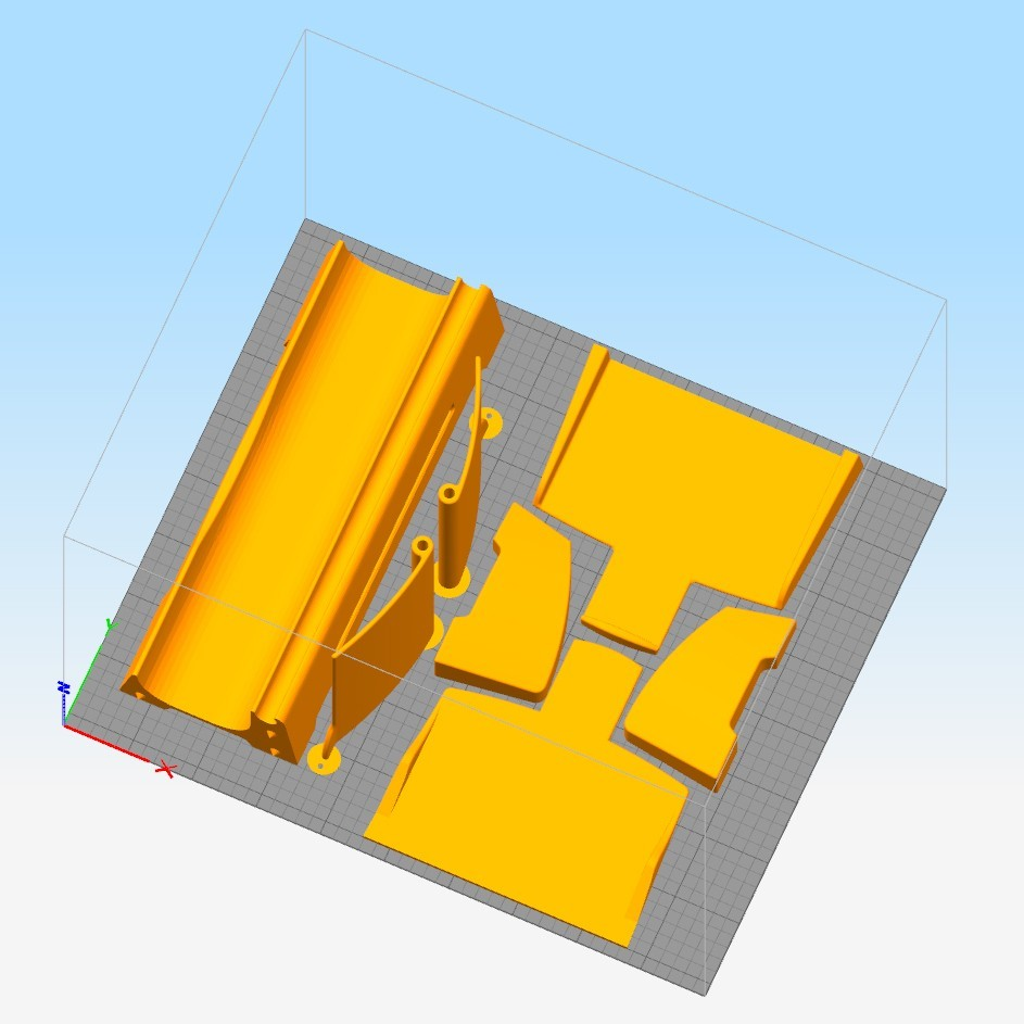 Print table.jpg Download free STL file Table Organizer - Hand Printer • 3D print design, KuKu