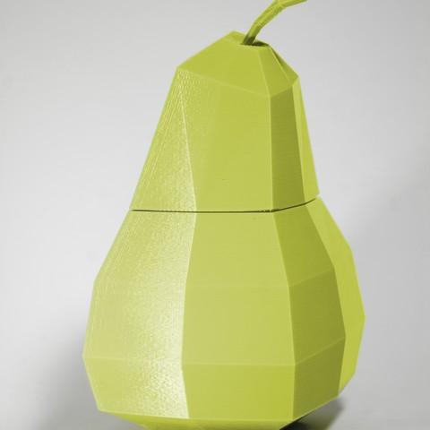 Grusha 5.jpg Download free STL file Pear Casket • 3D printing design, KuKu