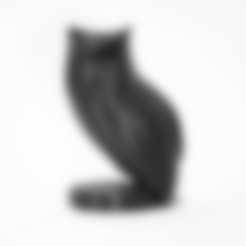 Descargar archivo 3D gratis Escultura del búho, KuKu