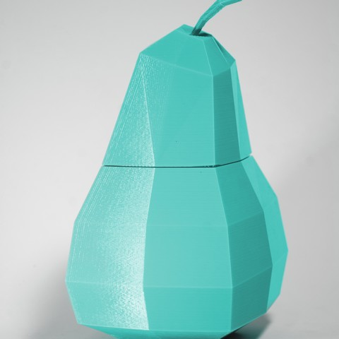 Grusha 3.jpg Download free STL file Pear Casket • 3D printing design, KuKu