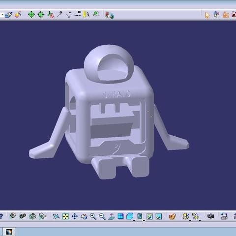 mascot3.jpg Télécharger fichier STL gratuit STRATO (PAS DE SUPPORTS) • Plan à imprimer en 3D, nicjones1