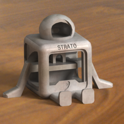 Download free 3D printer templates STRATO (NO SUPPORTS) , nicjones1