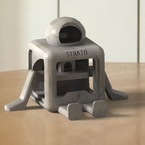 mascot1.png Download free STL file STRATO (NO SUPPORTS)  • 3D printing design, nicjones1