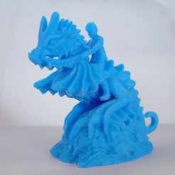 Download 3D printing files Seahorse Cavalry, Tini