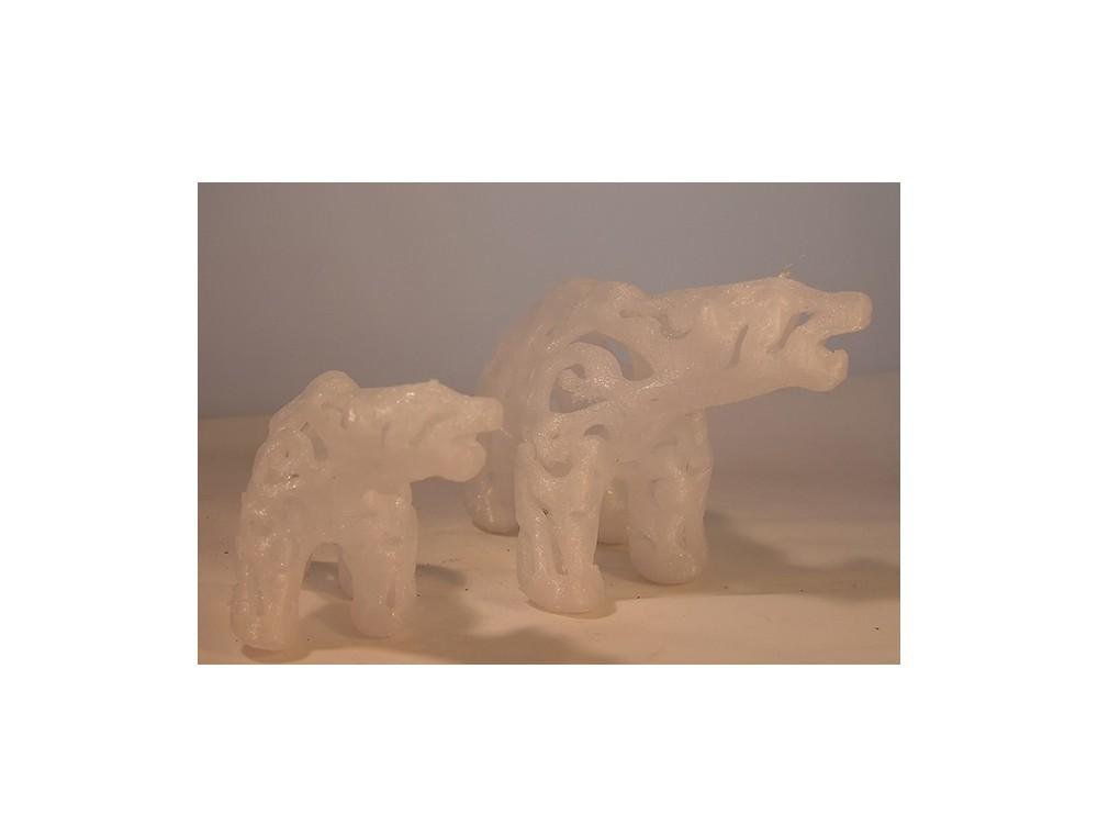 Poalar Bear.jpg Download free STL file Polar Bear • 3D print model, Tini