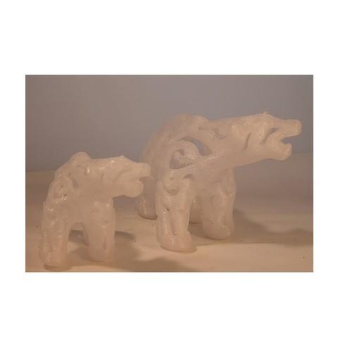 Free Polar Bear 3D printer file, Tini