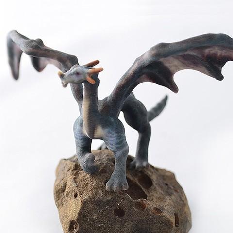 Free Majestic Dragon STL file, Tini