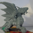Free Armored Dragon STL file, Tini