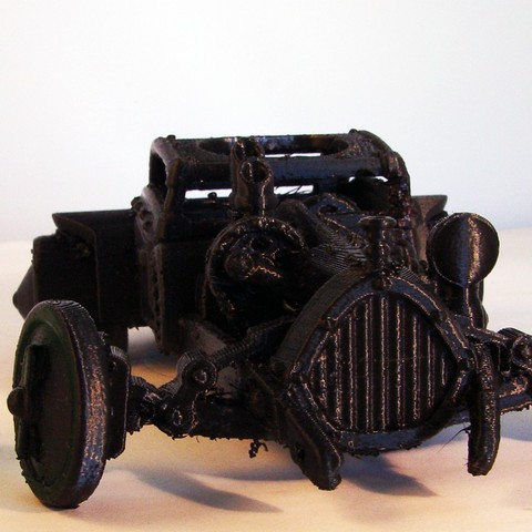 Steam Punk Cruiser 1s.jpg Download free STL file Steam Punk Cruiser • 3D printing object, Tini
