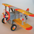 Download free STL files  Bi Plane, Tini