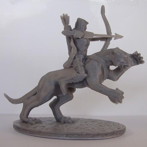 Download 3D printing files Black Panther Archer, Tini