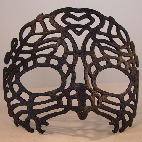 3D print files Venetian Mask, Tini