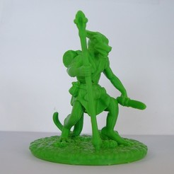 Download 3D printing templates Wolfman, Tini