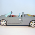 Free 3d printer designs Porsche Carrera GT, Tini