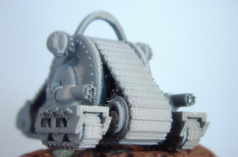 Tank Droid.jpg Download free STL file Tank Droid • 3D printable design, Tini