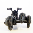 Free 3D printer model Sidecar Moto Speeder, Tini