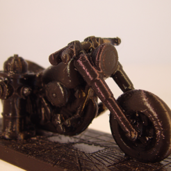 Download free 3D printing designs Harley Davidson, Tini